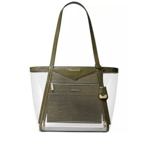 Michael Kors Clear Whitney Tote!